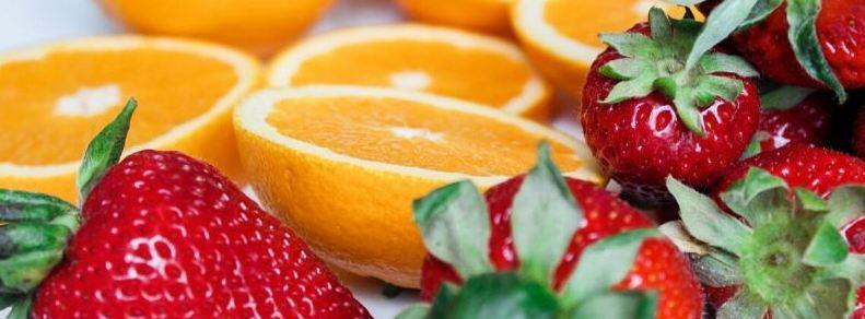 frutas con más vitamina C